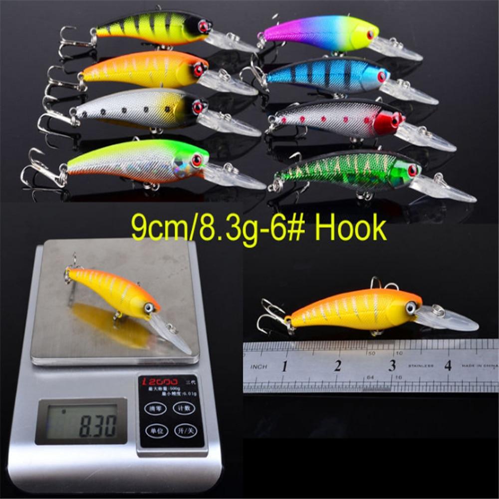 Image 5 - New Minnow Mixed 20pcs/Set Fly Fishing Lure Kit Set Artificial Hard Baits Lifelike Wobbler Carp Fishing Tackle Pesca WholesaleFishing Lures   -