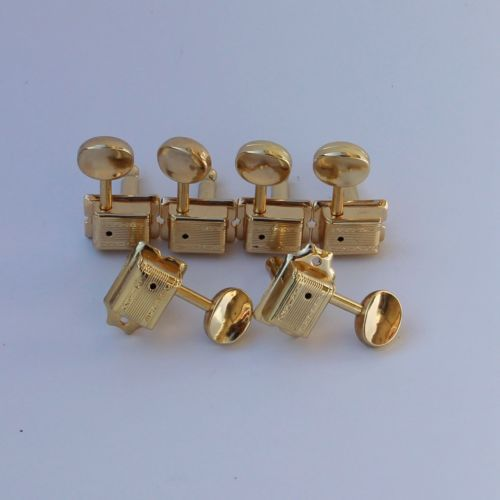WILKINSON VINTAGE Gold TUNERS GUITAR  WJ-55-6GD popular guitar tuners 6r gold guitar locking tuners jn 07 sp guitar tuners