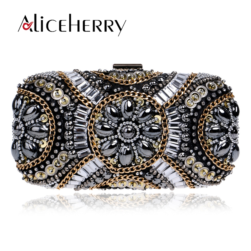 Woman Evening bag Women Diamonds Chain Clutch bags Crystal Day Clutch Wallet Purse Party Banquet Luxury Wedding Makeup Bag le volière джинсовая рубашка