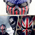 High Quality Outdoor Wargame Knight Mask CS Full Face Airsoft Paintball Army Mask Halloween Party Cosplay Horror Gost Mask
