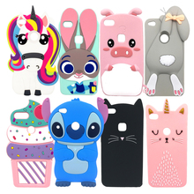 2017 New 3D Cartoon Case For Huawei P10 Lite 5.2 inch Soft S