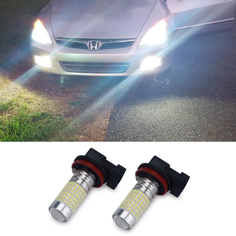 2x H8 H11 9006 HB4 Canbus LED Car Fog Lights For Mercedes Benz W203 W211 W204 W210 W205 W212 W220 W202 W201 AMG A C E GLK CLASS