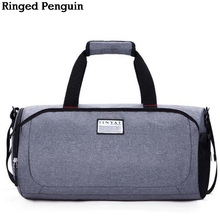 Ringed Penguin Men New Travel Bag Women Hand Luggage Travel Duffle Bags Nylon Weekend Bags Multifunctional Travel Bags