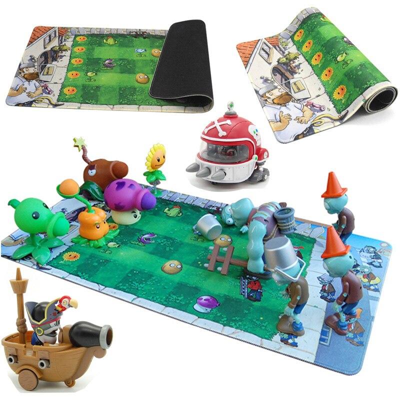 Enfants jouets pour enfants Action jouet figurines plantes Vs Zombies jouet drôle lancement anniversaire cadeau de noël