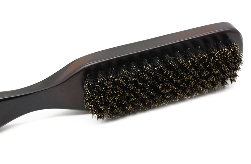 деревянная ручка кабан щетинная щетка для очистки парикмахерские для мужчин борода щетки антистатические гребень парикмахерская укладки волос средства для бритья