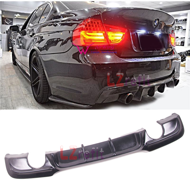 Fit For 06-11 BMW 3 Series E90 Sedan 325i 328i M3 OE Unpainted ABS Trunk Spoiler