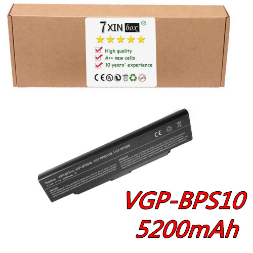 6CELL Battery for Sony Vaio VGN-AR VGN-CR VGN-NR VGP-BPS10 VGP-BPS9 VGP-BPS9A/B VGP-BPS9/B GN-SZ54B/B VGN-SZ55B/B VGN-SZ55GN/ brand new original keyboard forsony vaio vgn nr vgn ns vgn nr ns with frame service us version black colour us layout