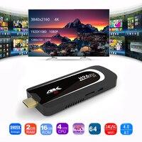 H96 Pro H3 TV Stick Mini PC Android 7.1 Amlogic S905X Quad Core TV Dongle 2GB 16GB 2.4G/5.G WiFi BT 4.0 1080P 4K HD TV Stick