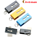 Civetman OTG USB Flash Drive de 8 GB 16 GB 32 GB USB Pen Drive externo otg micro usb memory stick pendrive capacidad plena de metal u disco