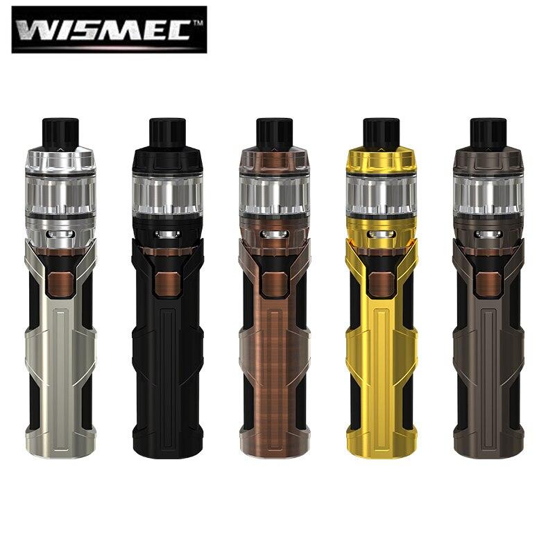 Original WISMEC sinuosa SW 3000 mAh batería 50 W cigarrillo electrónico pluma Vape con Elabo SW ajuste atomizador WS01 Triple bobina