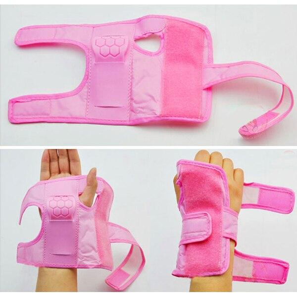 5 PCS JHO-Pink 6 ~ 9 Yrs Boys Girls Kids Child Skate Cycle Knee Set Elbow Wrist Safety Pad