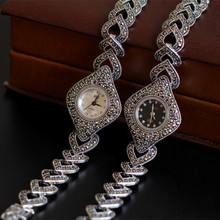 Retro Thai Silver Product Beautiful Elegant S925 Sterling Si