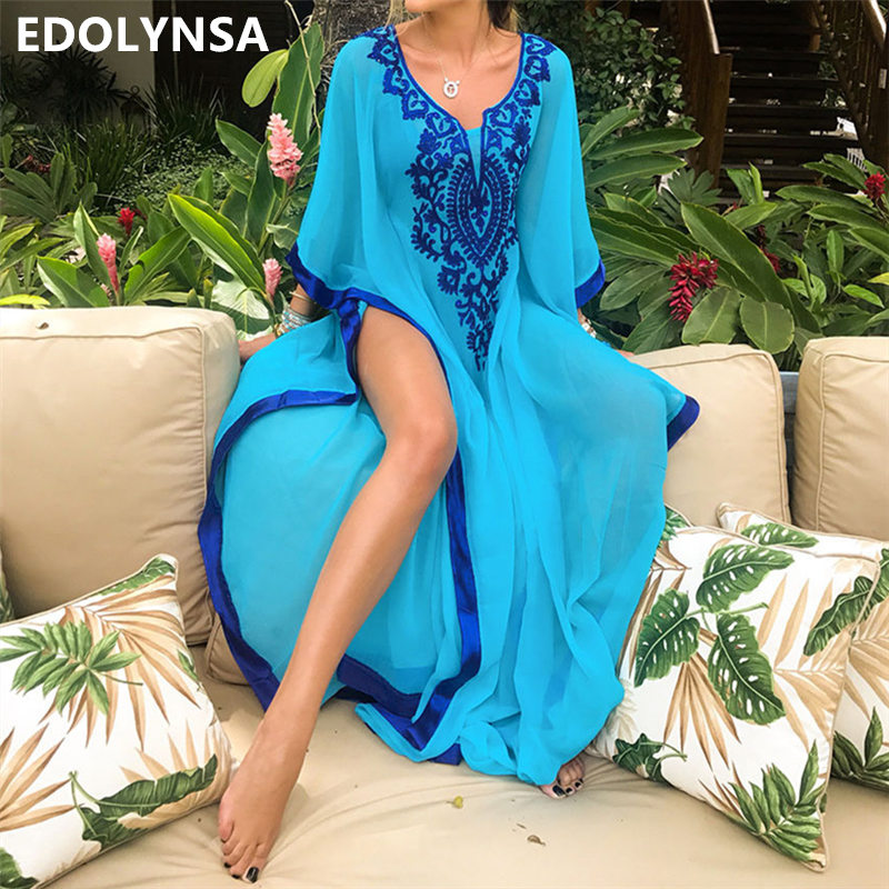 10ee82f15b403 top 10 largest embroidered dresses and maxis ideas and get free ...
