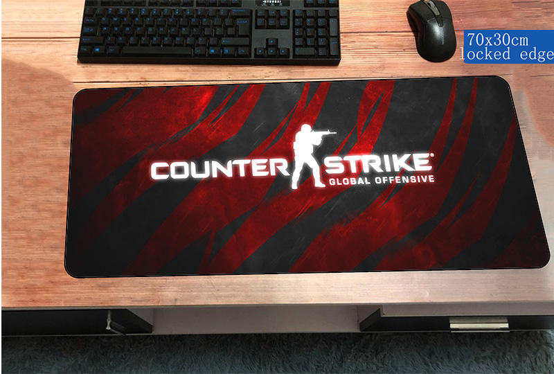 Cs go mousepad best 700x300x3mm gaming mouse pad gamer for Cs go mouse