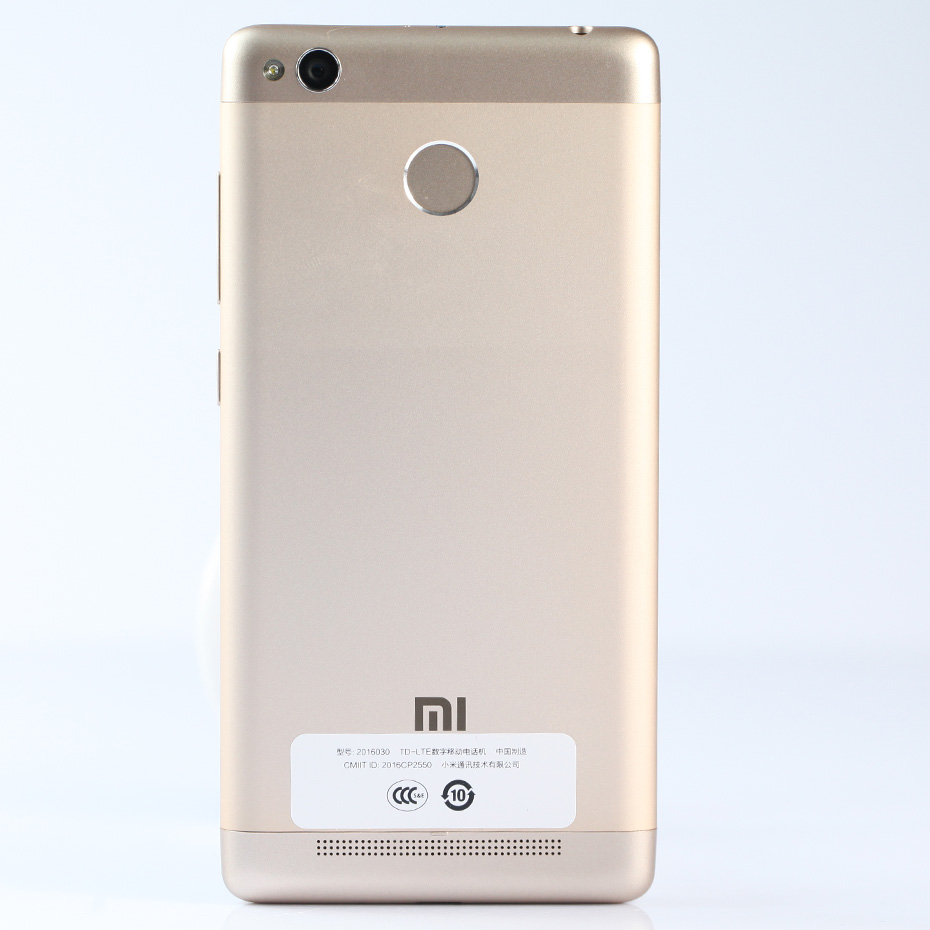 Buy Original Xiaomi Redmi 3s Android Cell Phone 16gb Gold Snapdragon 430 Octa Core 50 Inch 130mp 4100mah Metal Body Fingerprint Cellphone From
