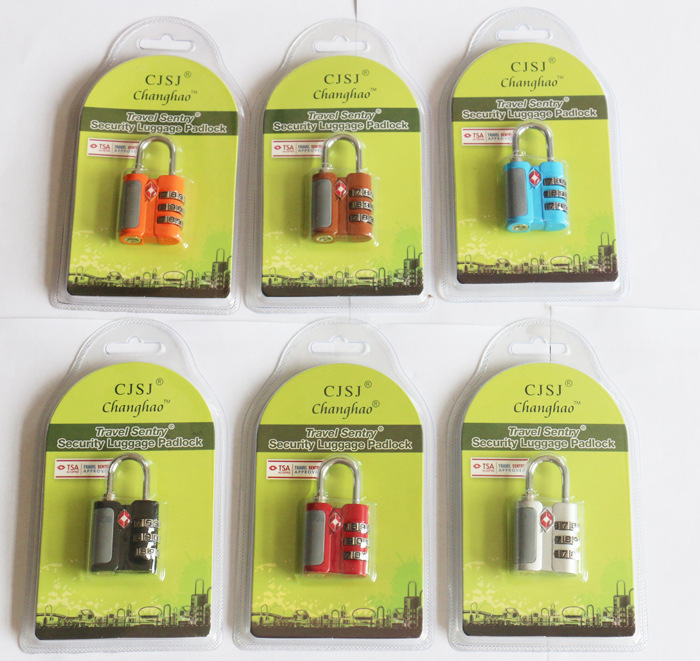 TSA 530 travel lock 3 Dial mini code password lock padlock for baggage luggage suitcase bag sentry security RoHS TSA lock Замок