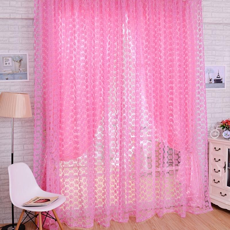 Achetez en Gros rose rideau panneaux en Ligne à des Grossistes ...