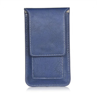 Man Outdoor Belt Clip Synthetic Leather Mobile Phone Case Card Pouch For LG L80 G3 S