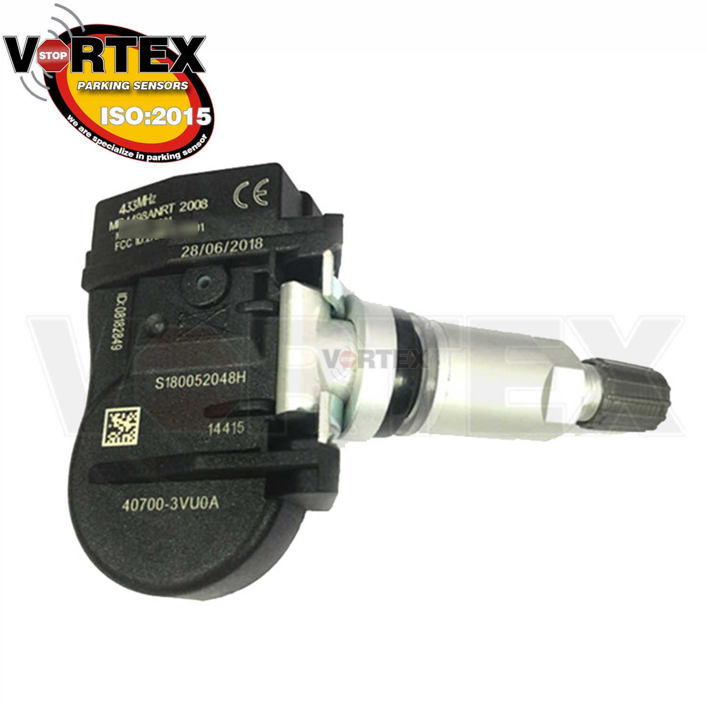 4 adet 433MHZ lastik basıncı sensörü TPMS Nissan not QASHQAI TIIDA Hatchback X-T Renault ESPACE KOLEOS 40700-3VU0A 407003VU0A
