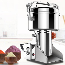 400g Home Grains Powder Crusher Electric Mini Swing Type Chinese Medicine Grinder Grains Cereals Coffee Mill Grinding Machine cheap Blade Coffee Grinders SA-HR-08B Stainless Steel 1 8kw SANWOKI 28000r min