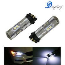 2 X White Error Free PW24W LED Bulbs For BMW F30 3 Series DRL Daytime Light(China)