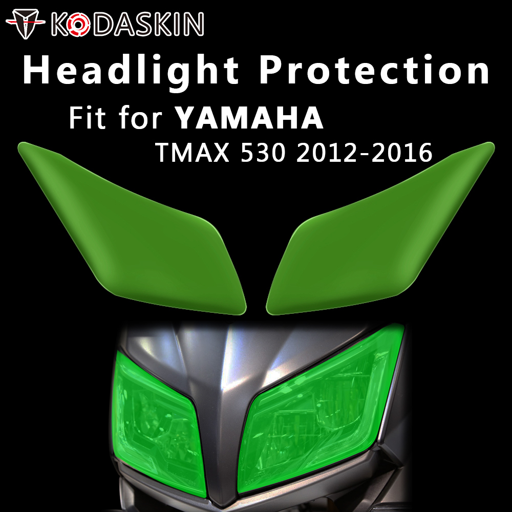 KODASKIN Motorcycle Headlight Cover Protection Screen For Yamha TMAX 530 2012-2016