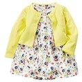 Розничная киз Cocuk Elbise оптовая продажа детское платье мягкий и симпатичные бантом принцесса Vestido линдо платье девочка бесплатная shipp мед детские