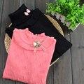 Девушка свитер вязаный эластичный хлопок детская одежда