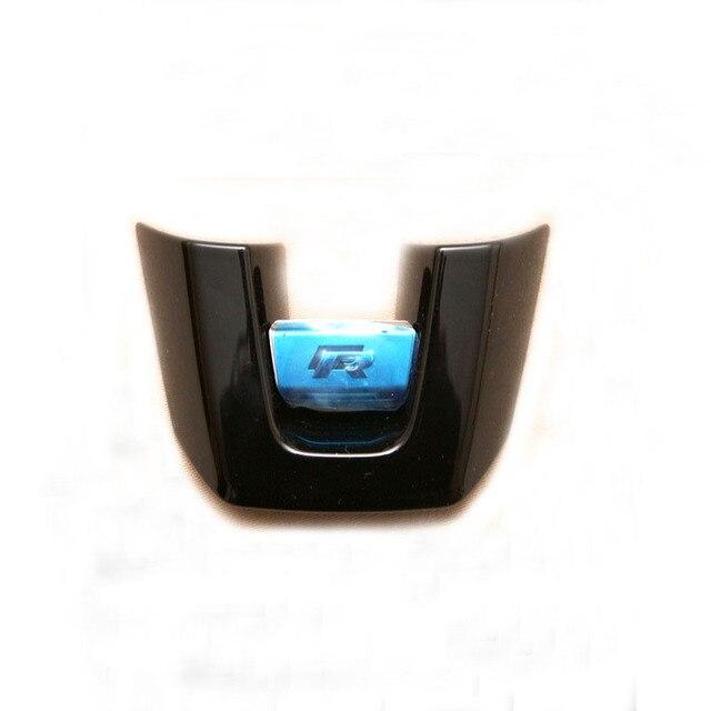 OEM Fit For VW Golf MK6 GTI R Line Steering Wheel Badge Black