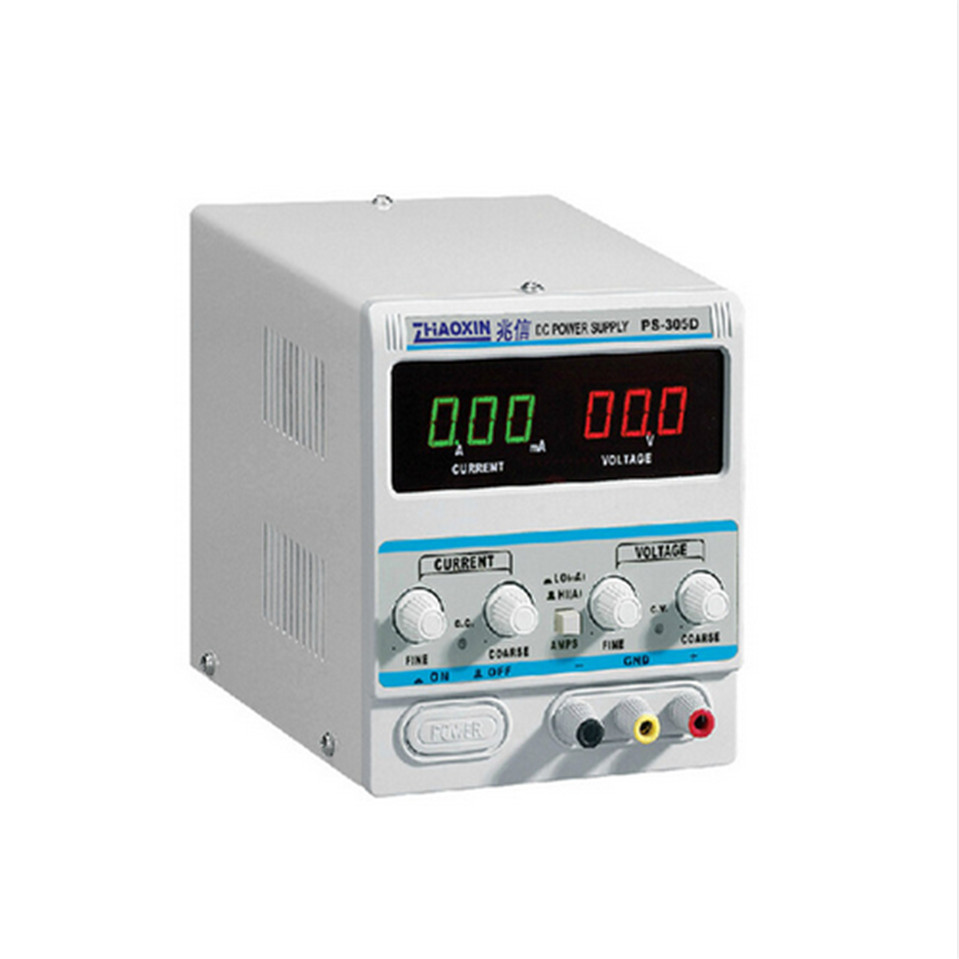 ZHAOXIN DC Power Supply For Lab PS-305D Variable 30V 5A Adjustment Digital Regulated DC Power Supply 305d dc power supply adjustable digital high precision dc power supply led protection 30v 5a regulator switch dc power supplies