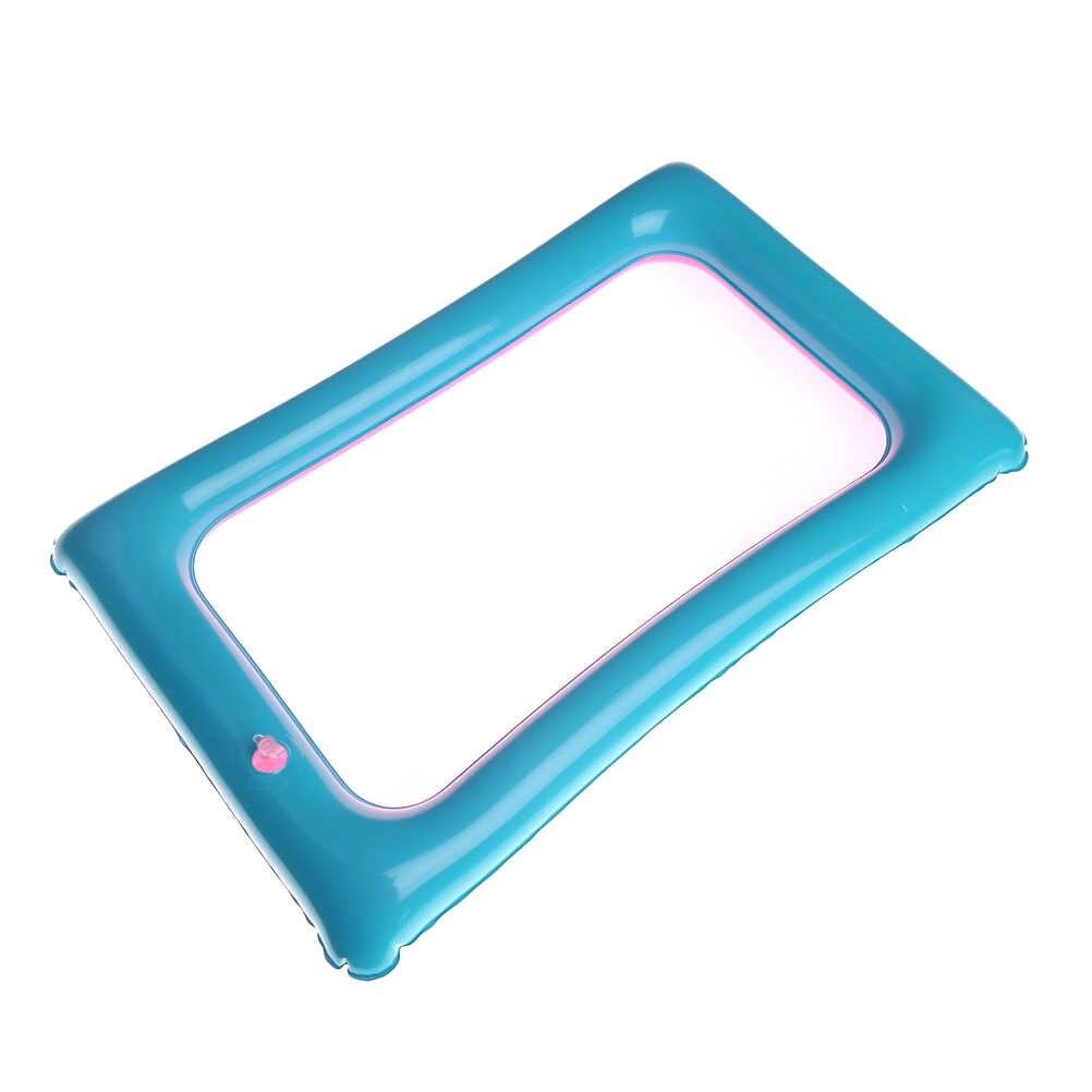 """1 יחידות סט לילדים קטנים חיצוני/מקורה משחק אקראי צבע 35*18.5 ס""""מ PVC מתנפח חול מגש נייד שולחן צעצוע"""