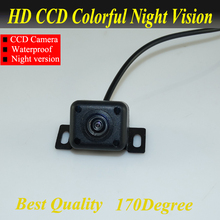 Best quality HD CCD Car Rearview Camera Waterproof IR night vision Wide Angle Luxur car rear view camera reversing Backup Camera