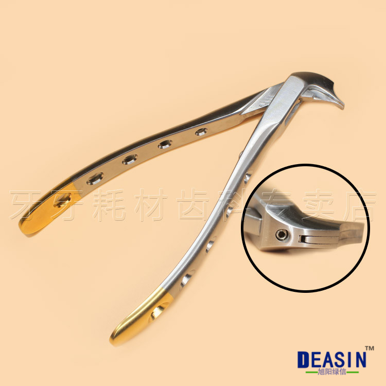 Dental crown broken device crown break pliers Bird nose pliers NEW Orthodontic pliers 2017 new arrival dental laboratory material the broken crown clamp crown removing pliers