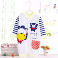 autumn Baby boy Clothes Newborn Cartoon Baby girls clothing Rompers Infant cotton Long Sleeve Jumpsuits Spring Clothes Wear