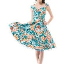 Sommer Kleider Frauen Pinup Retro Robe Rockabilly 50 s Vintage Kleid Plus Größe XS-2XL Sexy Cocktail Party Kleid Vestidos Femininos