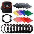 Rangers 12x llena de densidad neutra nd + conjunto de filtros de color para cokin p series ra110