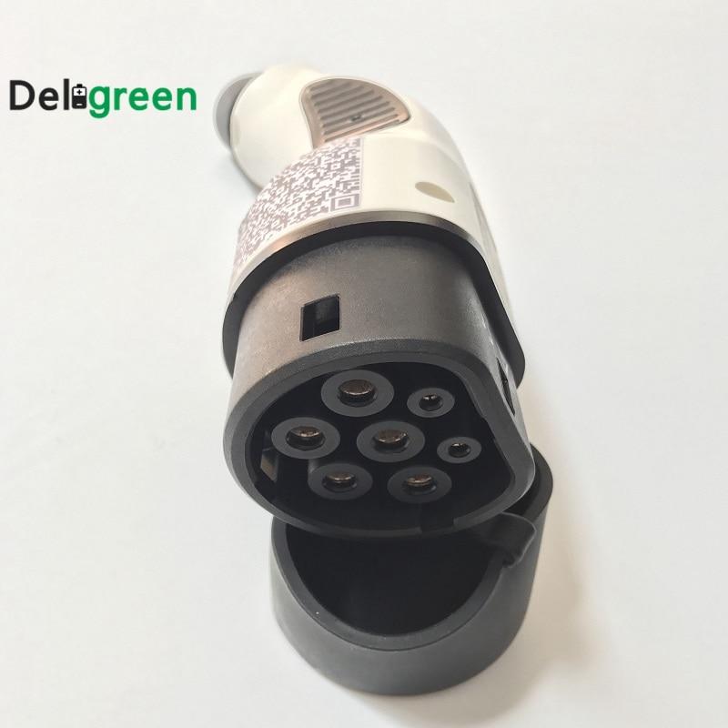 1.2M Teflon copper plated silver DC cable GX16-2P to Micro USB plug      L4-22