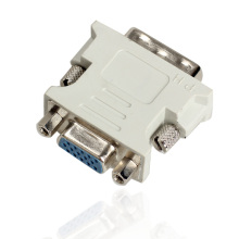 New DVI I Male 24 5 Pin to VGA Female Adapter Video Converter QJY99