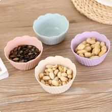 Plastic Baby Kids Bowl Fruit Salad Dish Tableware Children 's Rice Ice Cream Snack Bowl Plate Instant Noodle Bowl S2