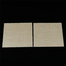 2 Pcs Microwave Oven Repairing Part Mica Plates Sheets  4.8″ x 4.8″ 120x120mm/4.8*4.8 inch