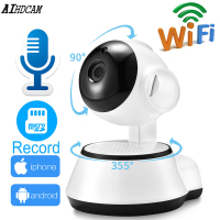 Home Wireless Security Camera IP Camera Smart WiFi Camera WI FI Audio Record Surveillance 1080P Night Vision Baby Monitor Cam