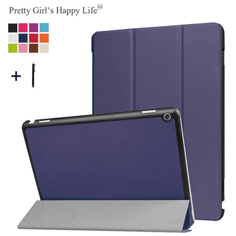 Tablets & E-books Case Kind-Hearted Slim Folding Case Cover For Huawei Mediapad T3 7 Wifi Bg2-w09 Flip Cover For Huawei Mediapad T3 7.0 Wifi Case Volume Large Tablet Accessories