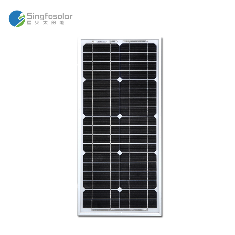 Cheap China Solar Panel 12v 20w Monocrystalline Solar