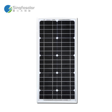 Cheap China  Solar Panel 12v 20W Monocrystalline Charger Cargador For Home Panneau Solaire A Grade Cell PVM