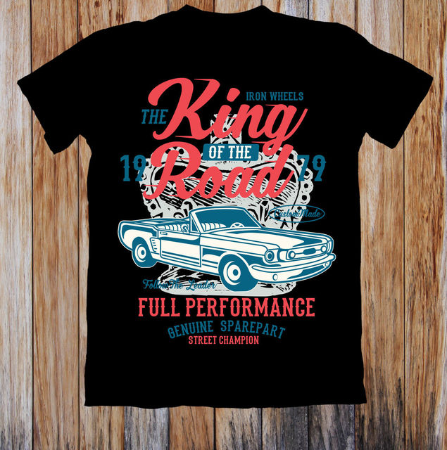 422990e17 THE KING OF THE ROAD REBEL UNISEX T SHIRT-in T-Shirts from Men s ...