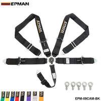EPMAN 5 Point Camlock Quick Release Racing Seat Belt Harness 3 SFI 16 1 Certified EPM