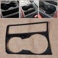 Suporte de Copo de Água Car Interior Painel De Fibra De Carbono Decoração Adesivo de Moldagem para Audi A4 B8 A5 2009 2010 2011 2012 2013 2014 2015