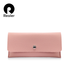 Realer women wallets card holders fashion ladies Pu leather