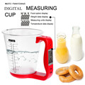 Escala copo de medição Digital de Cozinha Cozinhar ferramentas Tudo em Um Display LCD eletrônico multifuncional NOVO Red cozinha copo de medição