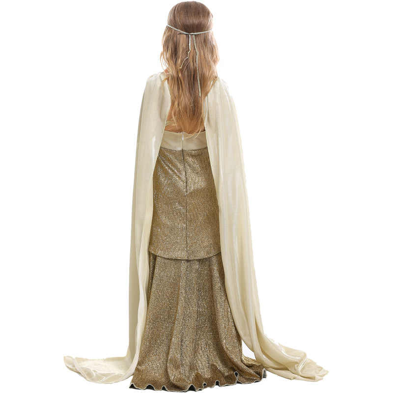 Echoine 女の子子供古代エジプトエジプト女神ファラオクレオパトラプリンセスドレス子供 Hollowen 甘いかわいいコスプレ衣装